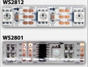 WS2801 vs WS2811